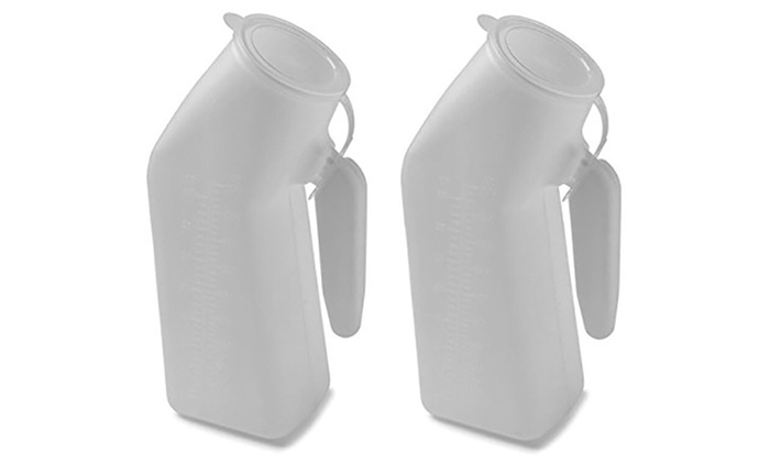 Deluxe Urinal with Translucent Lid