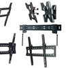 Ross Fixed, Tilt, or Full-Motion TV Wall Mounts. Three Sizes Available