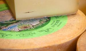 Naturkäserei Tegernseer: Geführte Käsereibesichtigung für 2, 4 oder 6 Personen inkl. Brotzeit in der Naturkäserei TegernseerLand