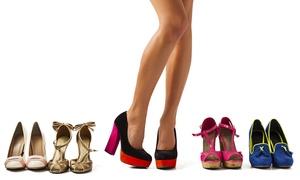 CHECCO MATERA: Sostituzione tacco in gomma per 5 o 7 paia di scarpe da donna (sconto fino a 80%)