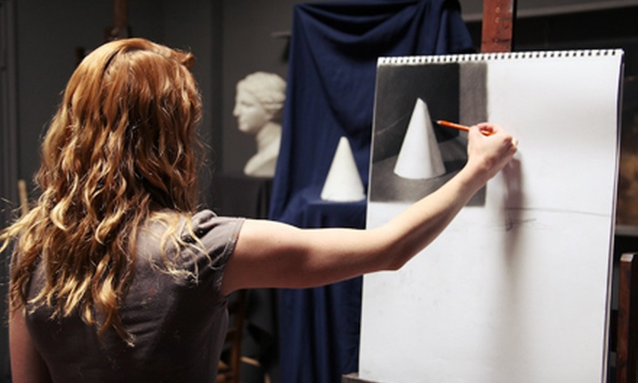Los Angeles Academy of Figurative Art - Lake Balboa: One-Week Drawing or Painting Workshop at Los Angeles Academy of Figurative Art (Half Off). Four Dates Available.