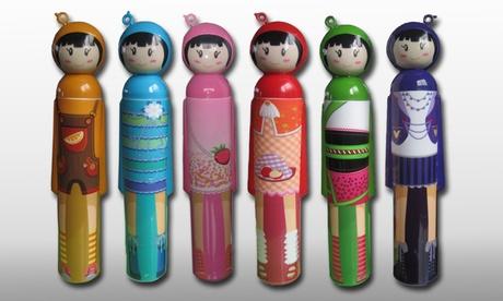 Paraguas infantil con estilo japonés