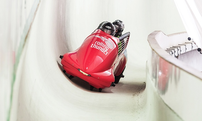 Whistler Sliding Centre - Whistler Sliding Centre: C$66 for a Rolling Thunder Summer Bobsleigh Experience at Whistler Sliding Centre (C$89 Value)