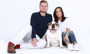 Flirt Studios: £9 for a Pet Photoshoot with Prints and a £25 Voucher at Flirt Studios (88% Off)