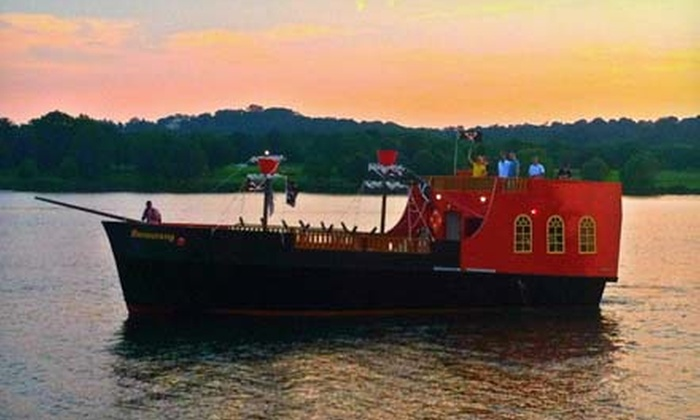 Boomerang Pirate Ship - Boomerang Boat Tours: Two-Hour Pirate Cruise for One or Two from Boomerang Pirate Ship (Up to 62% Off)