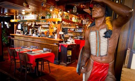 Hamburguesas o costillas a la texana para 2 o 4 con entrante, postre y bebida desde 19,95 € junto al Paseo de la Habana