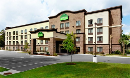 Groupon Deal: Stay at Wingate by Wyndham Charleston University Boulevard in North Charleston, SC. Dates Available into February.