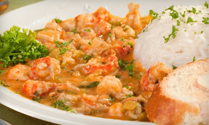 The Fish Place - Southeast Montgomery: Cajun and Creole Seafood at The Fish Place (Half Off). Three Options Available.