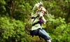 Gravity Trails - Egg Harbor: Dual Zipline Ride for Two, Four, or Six at Gravity Trails (Up to 53% Off)