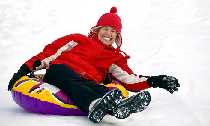 Glacier Ridge Snow Tubing - Rochester: $17 for an All-Day Snow-Tubing Pass for One at Glacier Ridge Snow Tubing ($30 Value)