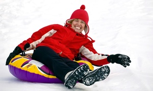 Glacier Ridge Snow Tubing: $17 for an All-Day Snow-Tubing Pass for One at Glacier Ridge Snow Tubing ($30 Value)