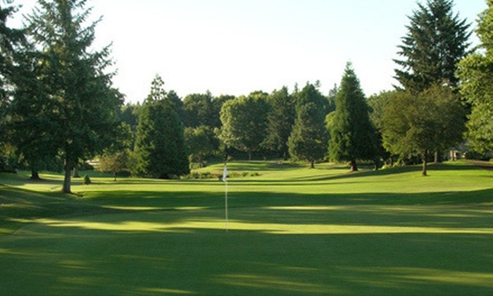 Charbonneau Golf Club - Wilsonville: 18-Hole Round of Golf for Two or Four with Cart and Range Balls at Charbonneau Golf Club (Up to 54% Off)
