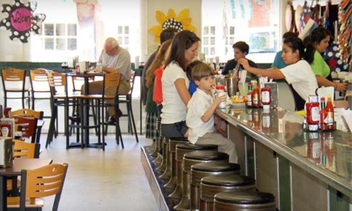 Highland Park Soda Fountain - Oak Lawn: Food and Treats at Highland Park Soda Fountain (Half Off). Two Options Available.