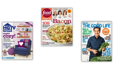 1-Year Subscription to a Women's, Food, or Home and Design Magazine from Hearst Magazines. Multiple Titles Available.