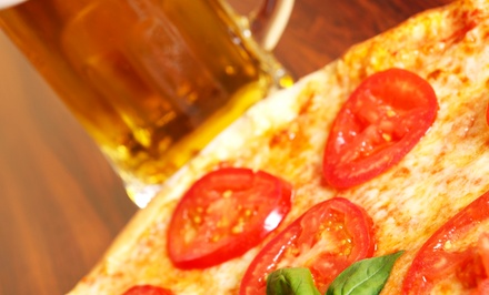 One, Two, or Four Pizza and Pitcher Packages at Keggers (Up to 50% Off)
