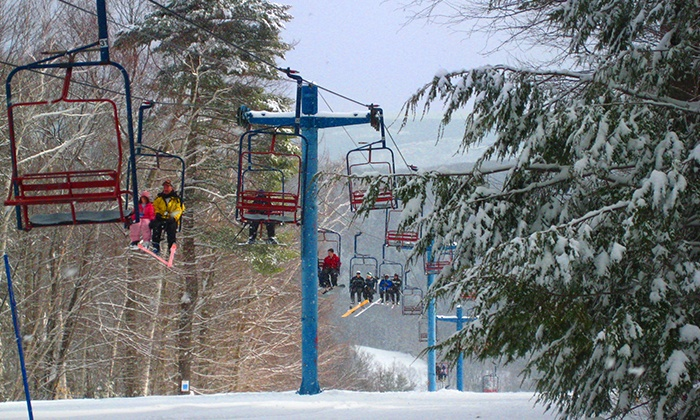 Blandford Ski Area - Rock Valley: Skiing or Snowboarding Lift Tickets for Two or Up to Four People at Blandford Ski Area (Up to 61% Off)