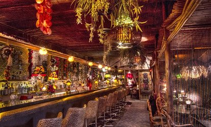 image for $21 for $30 Worth of Tropical Appetizers and Tiki-<strong>Bar</strong> Drinks at Hala Kahiki