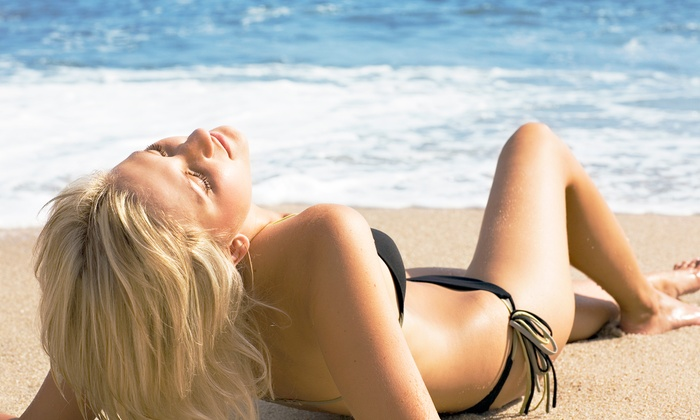 The Orange Chair Salon and Spa - Newport Beach: 1 Weight-Loss Detox Body Wrap, or 1 or 2 Body Wraps with Spray Tans at The Orange Chair Salon and Spa (Up to 58% Off)