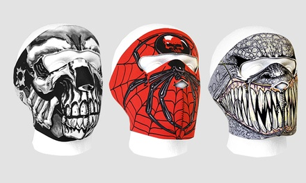 One or Three Neoprene Reversible Character Ski Masks from £3.32 (Up to 78% Off)