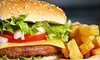 The Surf Burger - Plaza Primera: $10 for $20 Worth of Burgers, Home-Cut Fries, and American Fare at Surf Burger