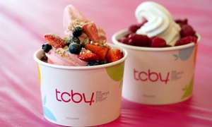 TCBY: $15 for Three Groupons, Each Good for $10 Worth of Self-Serve Frozen Yogurt at TCBY ($30 Value)