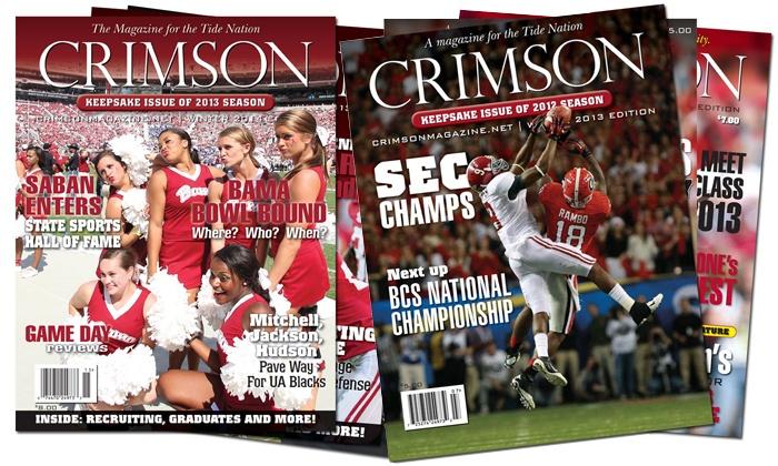 "<i>Crimson Magazine</i>: $12 for a One-Year Subscription to ""Crimson Magazine"" ($24 Value)"