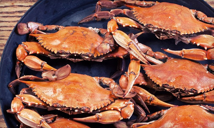 Maryland Blue Crab Express: Fresh Seafood Package from Maryland Blue Crab Express (Up to 53% Off). Four Packages Available.