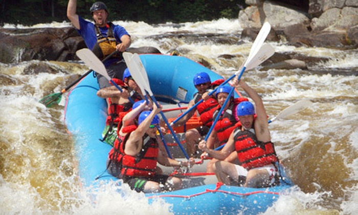 Maine Rafting Expeditions - Millinocket: Whitewater Rafting for Two or Four with Optional Night of Camping from Maine Rafting Expeditions (Up to 57% Off)
