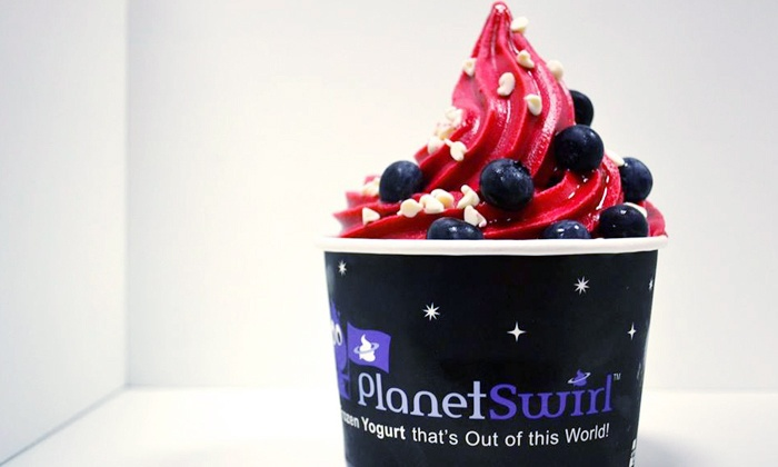 Planet Swirl - Planet Swirl: Frozen Yogurt Treats or Birthday-Party Package at Planet Swirl  – Whippany (Up to53% Off). 3 Options Available.