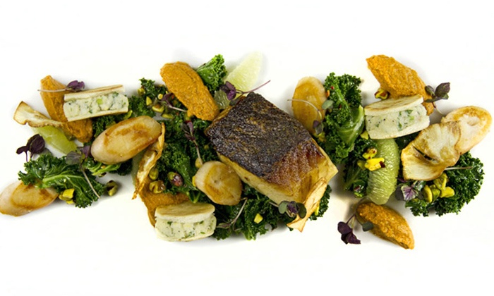 C Restaurant - Downtown Vancouver: $78 for a Six-Course Royal Seafood Tasting for Two at C Restaurant ($156 Value)