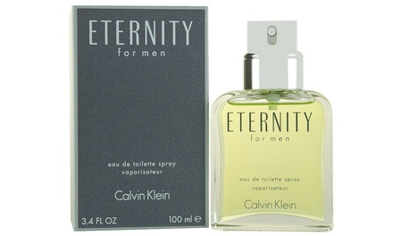 Calvin Klein Eternity Eau de Toilette for Men; 3.4 fl. oz