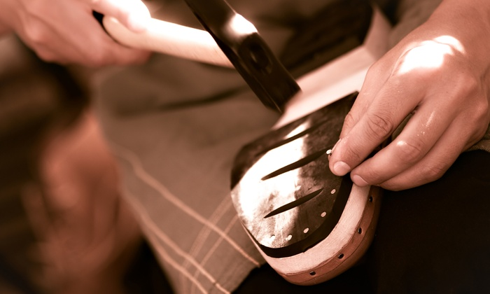 Cobbler's Bench Shoe Repair - Multiple Locations: $10 for $20 Worth of Shoe, Handbag, or Leather-Goods Repair at Cobbler's Bench Shoe Repair