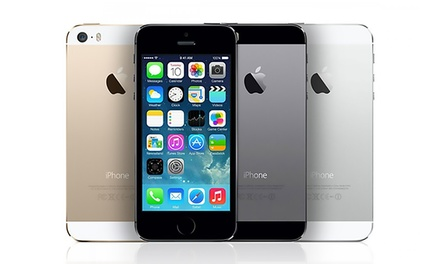 iphone 5s refurbished refurbished iphone 5 or 5s groupon goods 11238