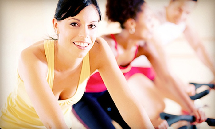 731 Fitness - Violet: 5 Group Fitness Classes for One or 10 Group Fitness Classes for One or Two at 731 Fitness (Up to 64% Off)