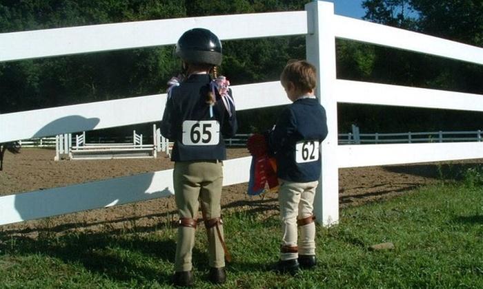 Cornerstone Farm - Cornerstone Farm: One, Three, or Five Horseback Riding Lessons at Cornerstone Farm (Up to 49% Off)