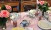 The Tea Gardens - Valencia: Bottomless Afternoon Tea for Two or Victorian Tea Party for Up to Four at The Tea Gardens (Up to 35% Off)