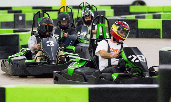 Speed Raceway - Multiple Locations: 14-Lap Indoor Go-Kart Race and Annual Race Pace for Two, Four, or Six at Speed Raceway (Up to 49% Off)