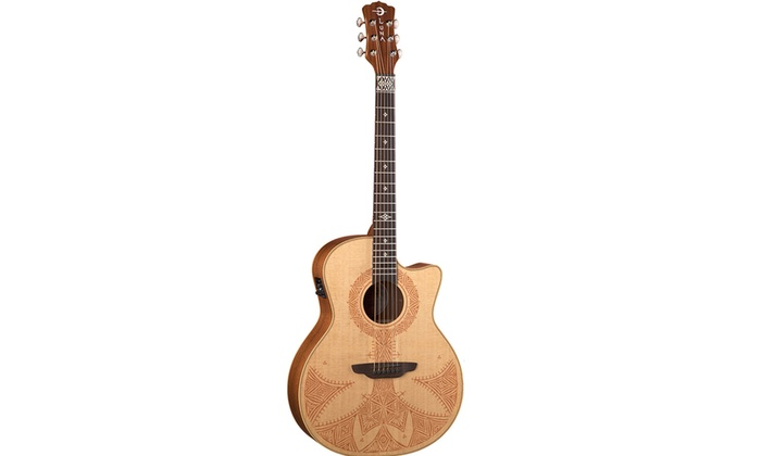 Luna Guitars Henna Sahara Acoustic Electric Guitar