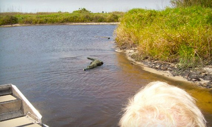 Loughman Lake Lodge - Titusville: One Airboat Tour ($45 Value)
