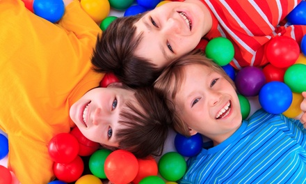 Two-Hour Soft Play Session for Two or Four Kids at Curly Whirleez (Up to 58% Off)