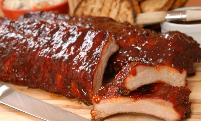 BG's and Billy's - BG's Restaurant & Billy Hannah's Pulled Pork: Seafood and Barbecue at Lunch or Dinner for Two or More at BG's and Billy's (40% Off)
