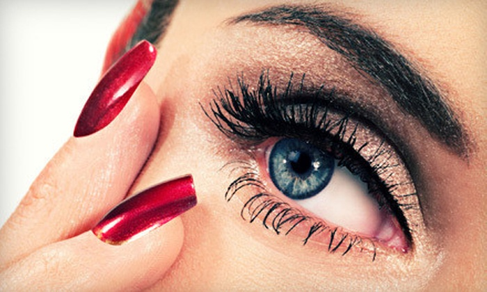 Blissful Beauty Bar - Seneca Knolls: Lash Extensions, Semipermanent Mascara, and Body Wraps at Blissful Beauty Bar (Up to 75% Off). Five Options Available.