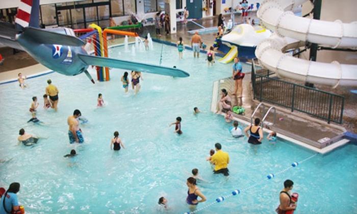 Glenview Park District's Splash Landings Indoor Waterpark  - Northfield: $18 for Six Visits to Glenview Park District's Splash Landings Indoor Waterpark ($36 Value)