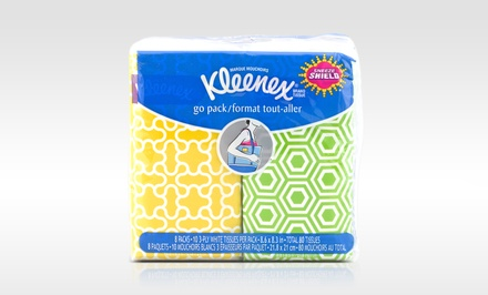 Kleenex Tissue Pocket Packs; 24-Pack of 8ct. Pockets + 5% Back in Groupon Bucks