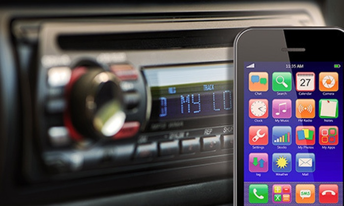 B&B Customs - Multiple Locations: Smartphone and MP3-Player Integration or iPod Integration with Charger for One Car at B&B Customs (Up to 52% Off)