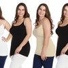 6-Pack of Women's Plus-Size Slimming Camisoles