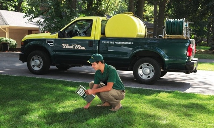 Weed Man - Winston-Salem: Weed-Control and Crabgrass Treatments for Lawn with Optional Slow-Release Fertilizer from Weed Man