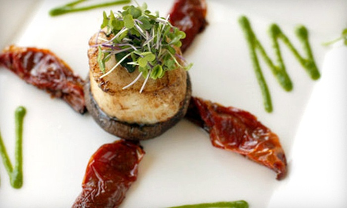 Cacharel Restaurant & Grand Ballroom - North Arlington: Steak and Seafood for Dinner or Lunch at Cacharel Restaurant & Grand Ballroom (Half Off)