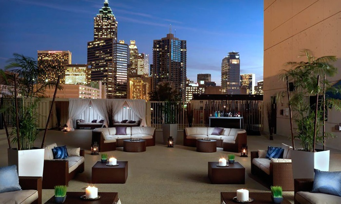 Melia Atlanta - Downtown: One- or Two-Night Stay with Valet Parking and Options for Breakfast or Dinner at Melia Atlanta