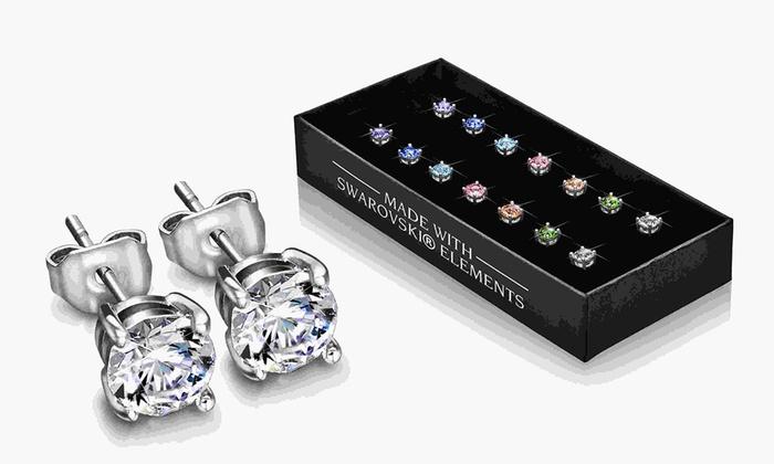 Orecchini con cristalli Swarovski®